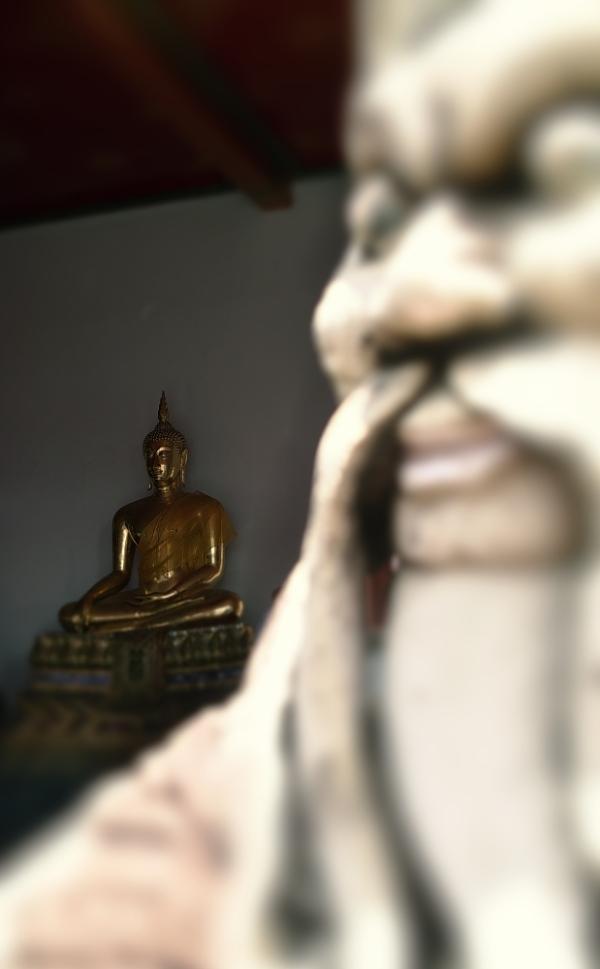 buddha & a guard