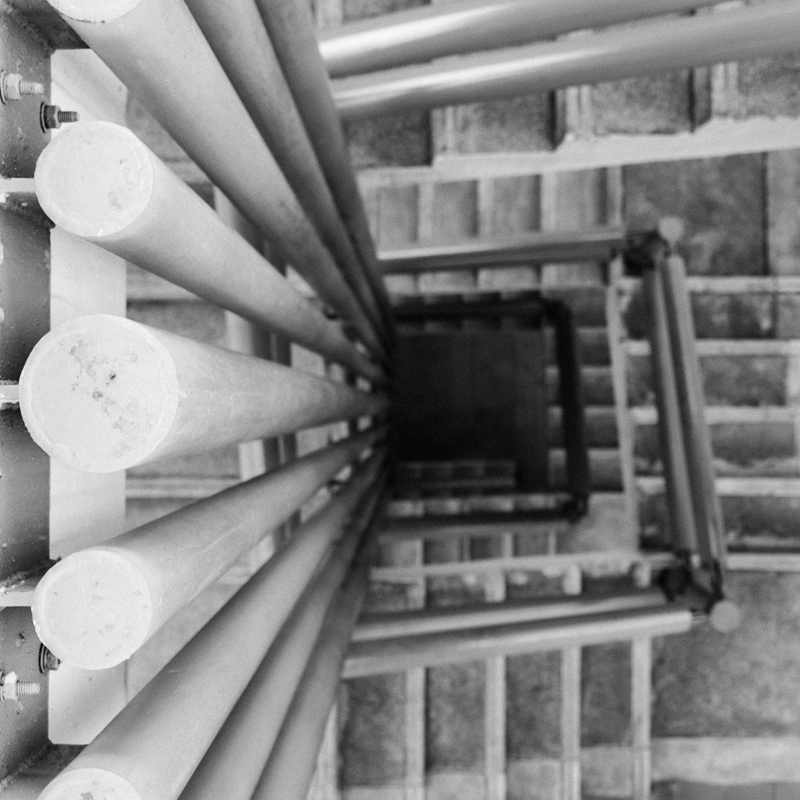the organ pipe staircase