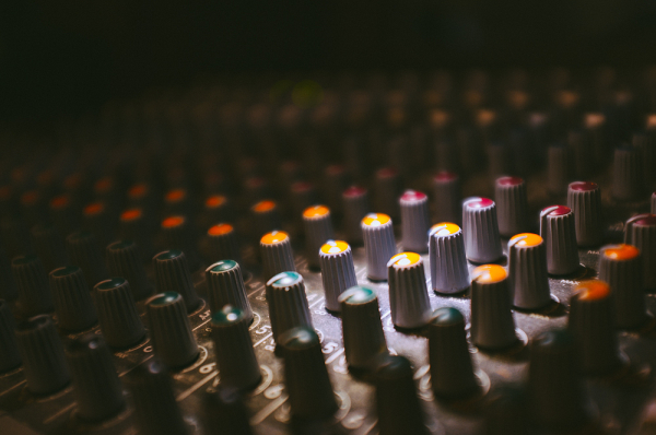 in the studio i: just a mixer
