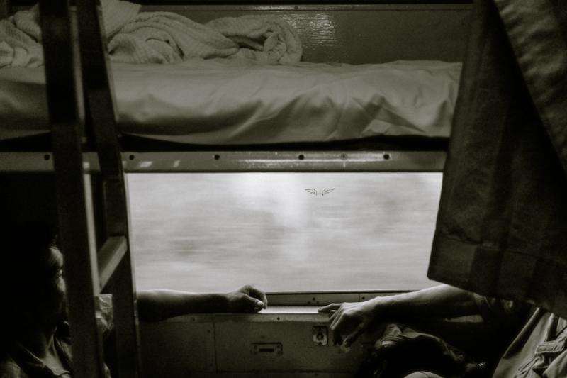 wake up on a night train