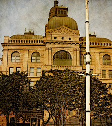 Tarrant County Courthouse   East Entrance