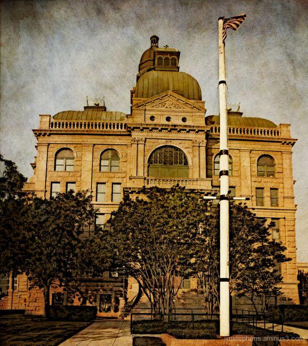 Tarrant County Courthouse   East Entrance