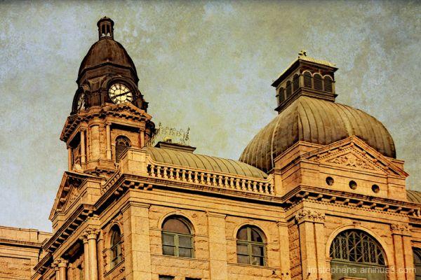 Tarrant County Courthouse Clock