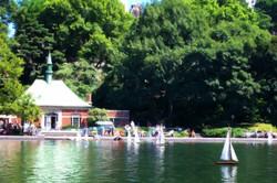 Central Park Sailboat