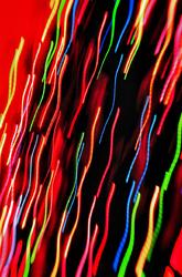 Christmas Tree Lights Abstract