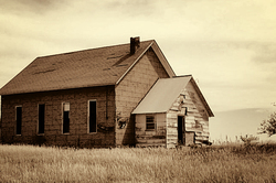 Abandoned Schoolhouse in Nebraska