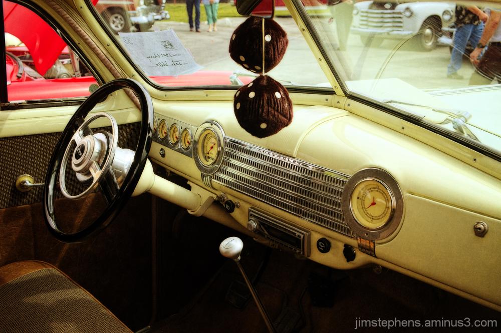 1941 Chevrolet Interior