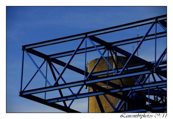 Structure métallique Paris Bercy