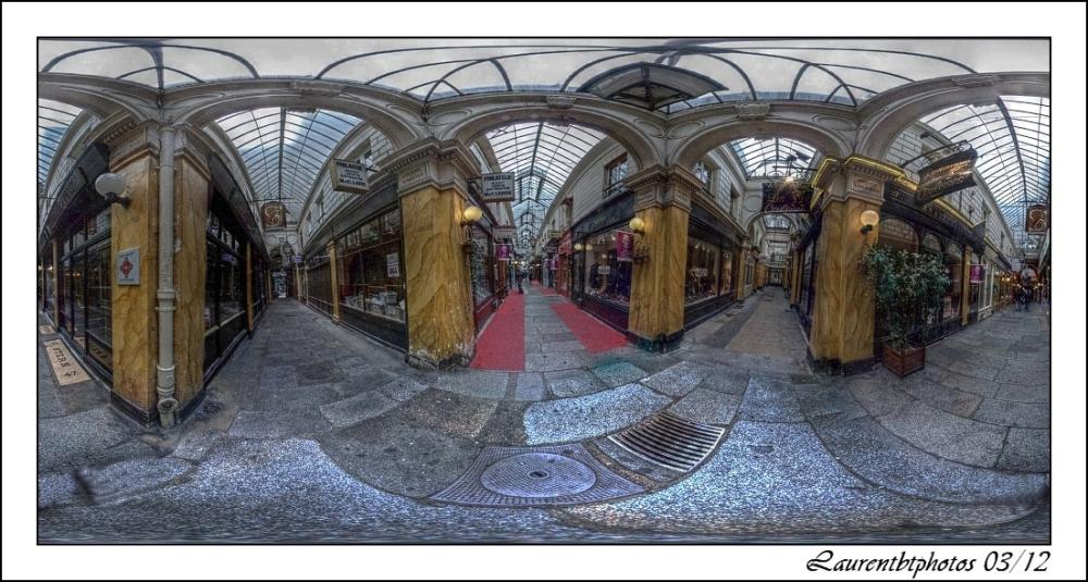 Paris Passage des panoramas a 360°