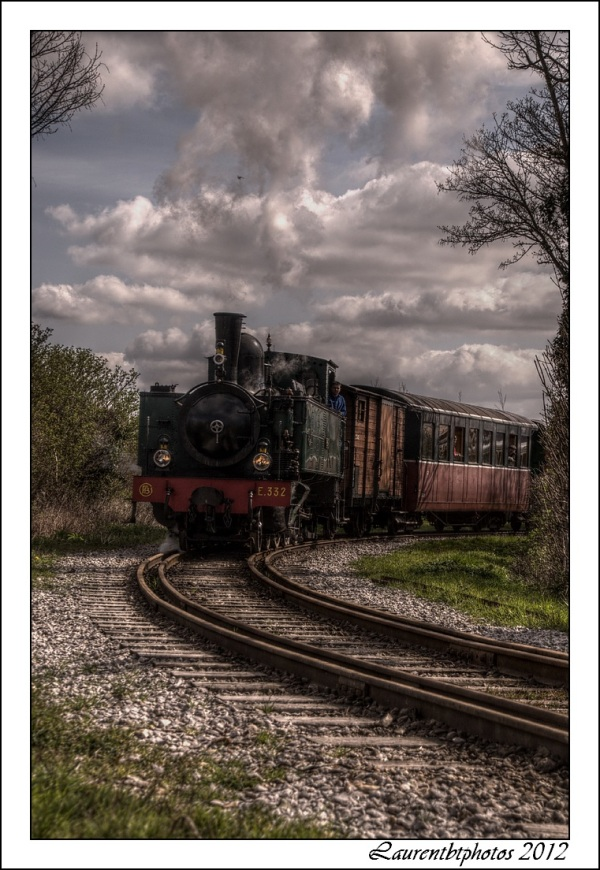 Train a vapeur