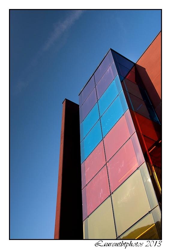 Architecture et couleurs a Rouen