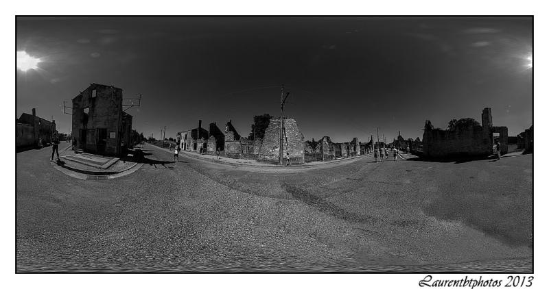 visite virtuelle Oradour sur Glane