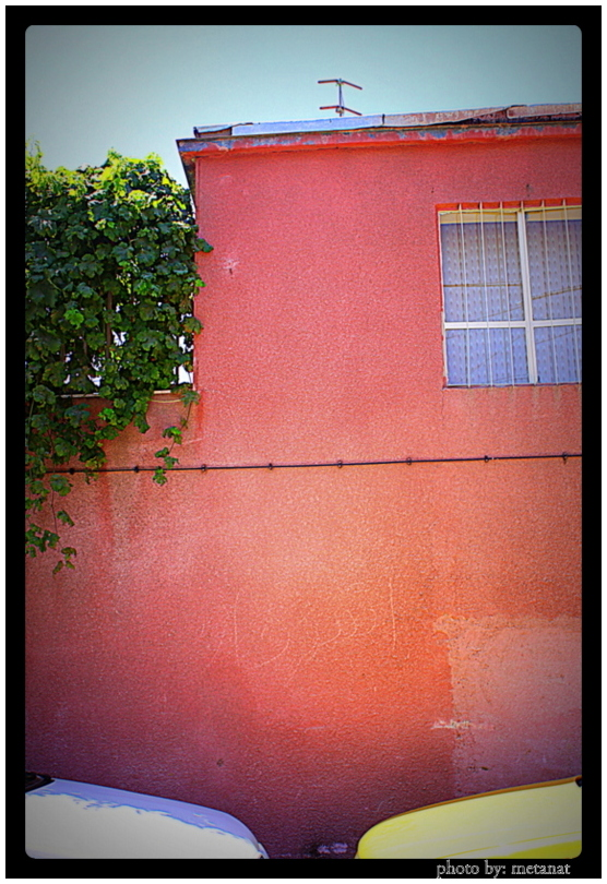 past...near the wall///