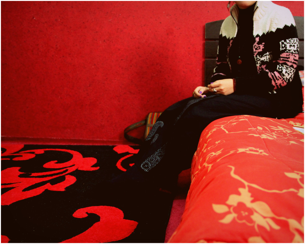 come in my red room