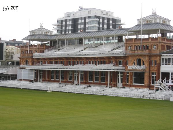 Lords! The most honored Building in Cricket.