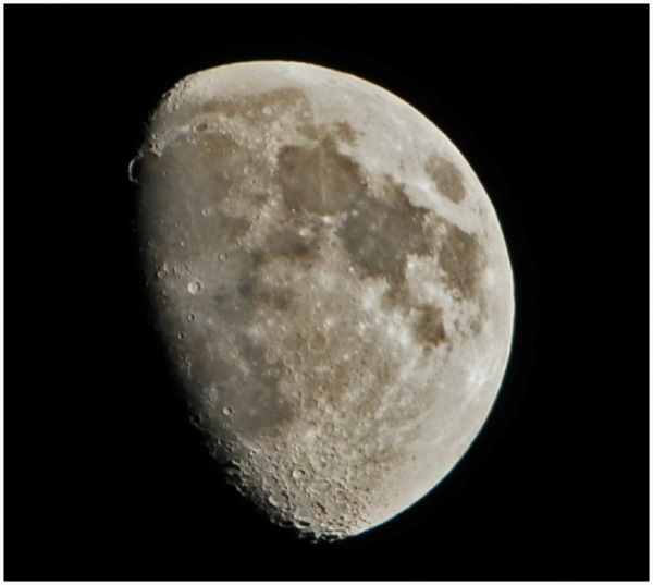 The Moon over Exeter.