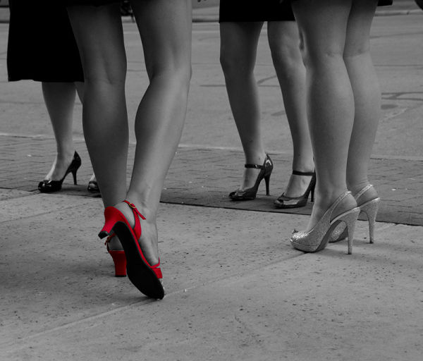 Red Heels and Legs