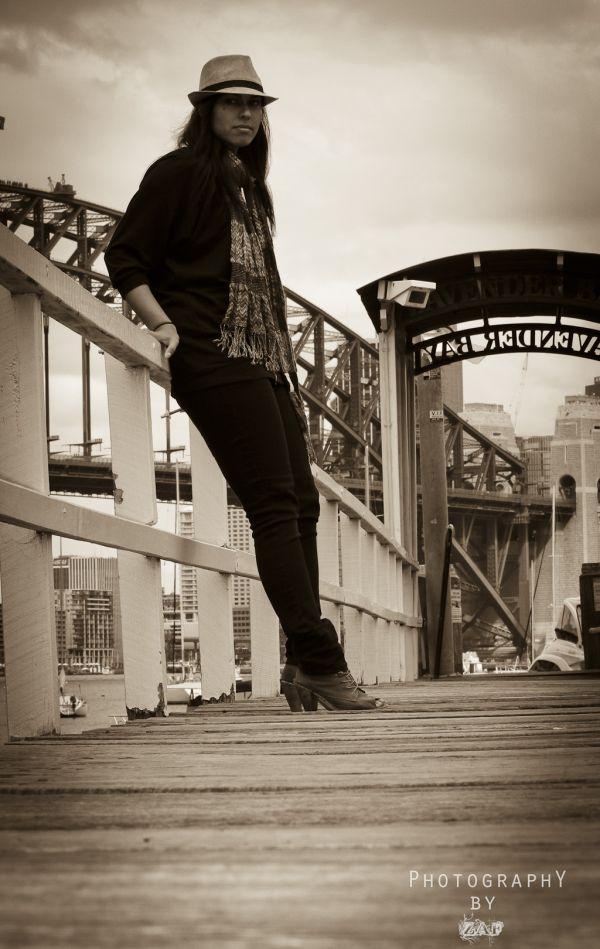 Jena on the wharf
