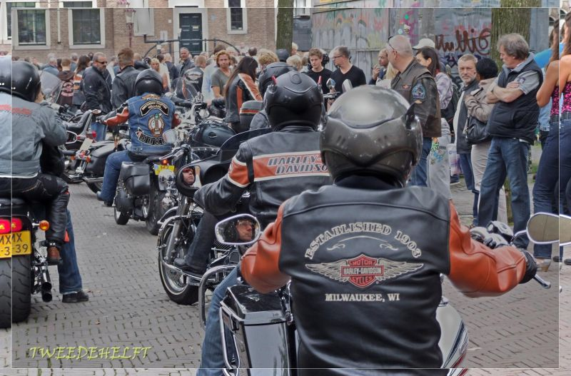 motors, protest, gemoedelijk