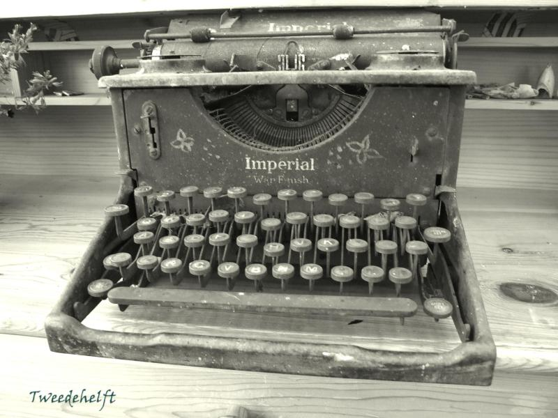 typemachine bij tuinburen