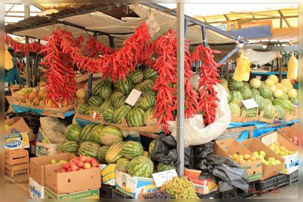 voedsel markt ohrid