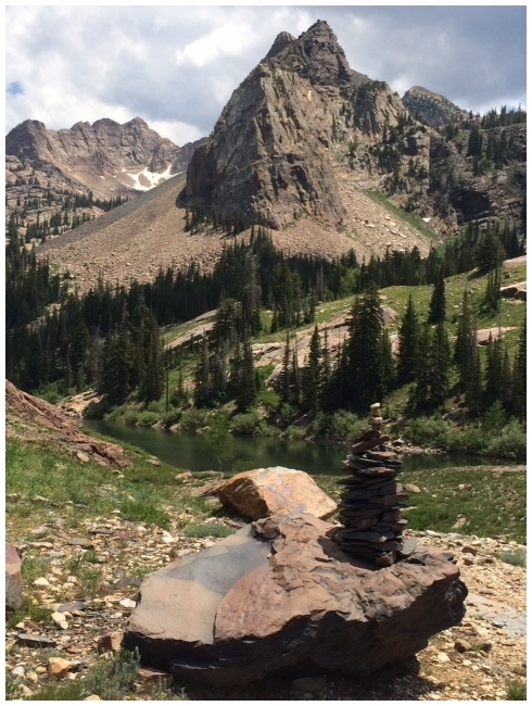 Cairn of Lake Blanche