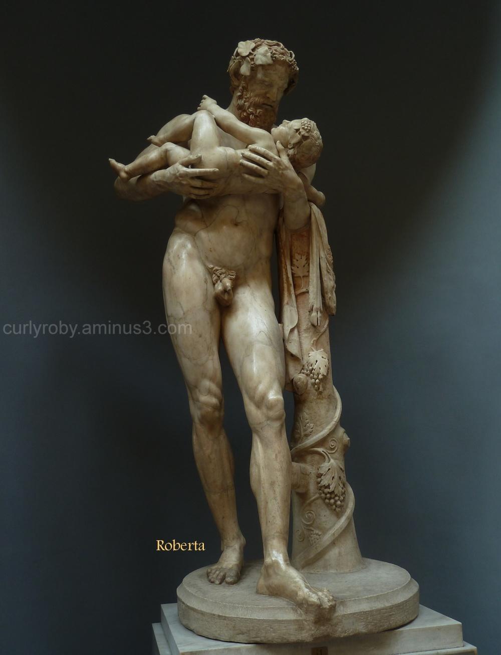 Rome XVII - Sileno e Bacco