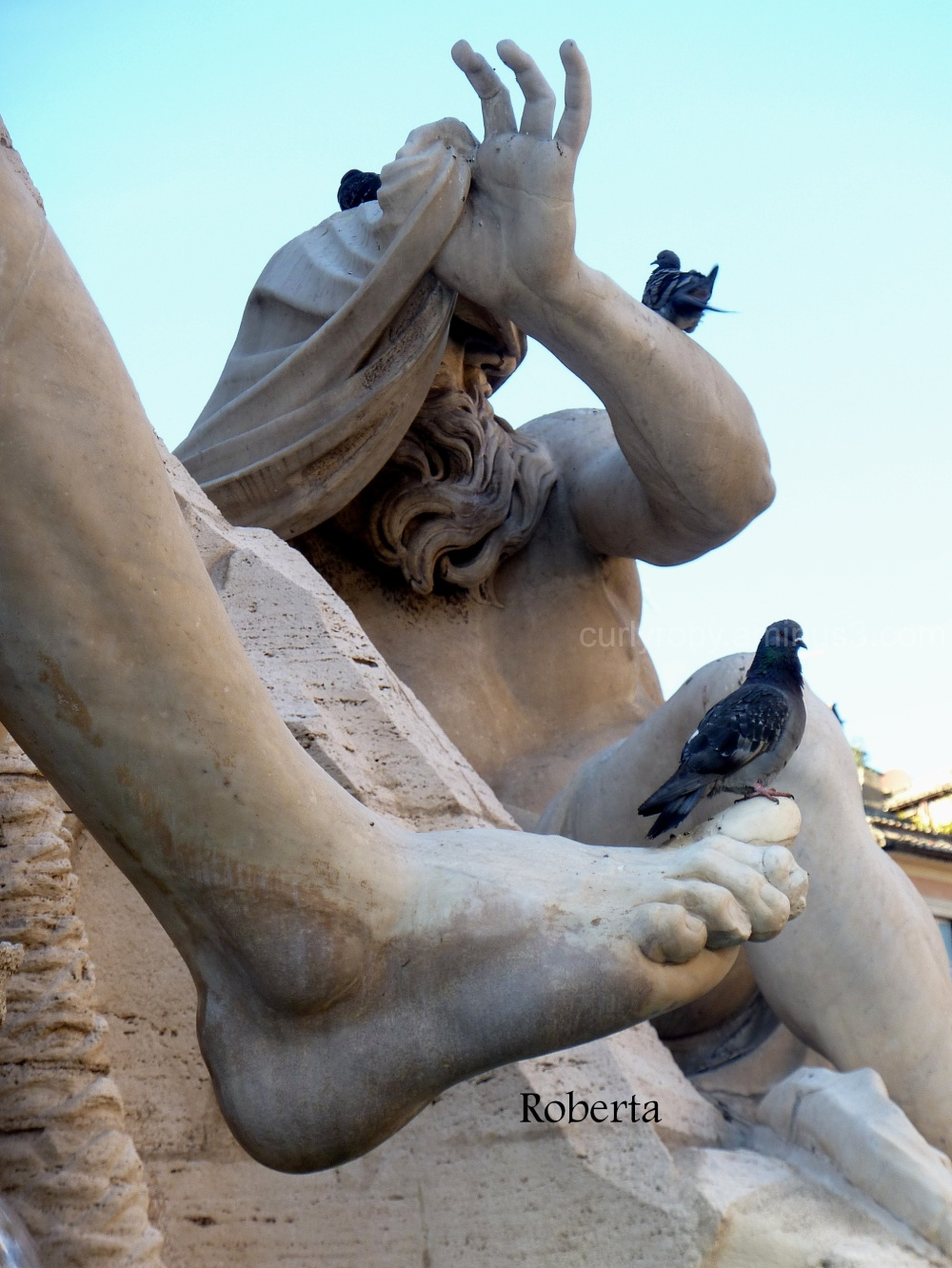 """Rome XXV - """"Away from me!"""""""