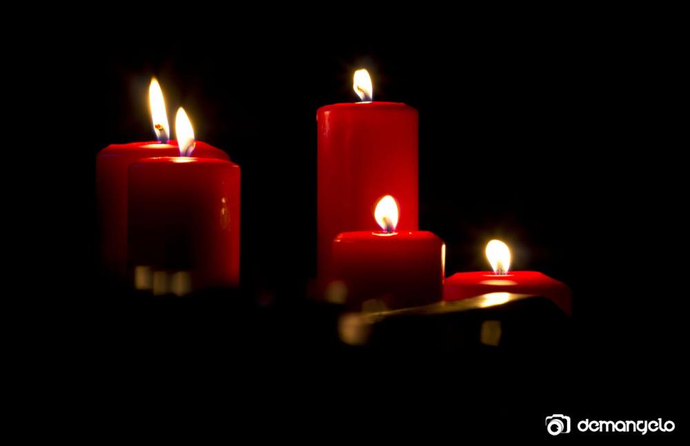 À la lueur des bougies