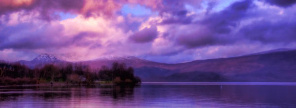 View over Loch Lomond