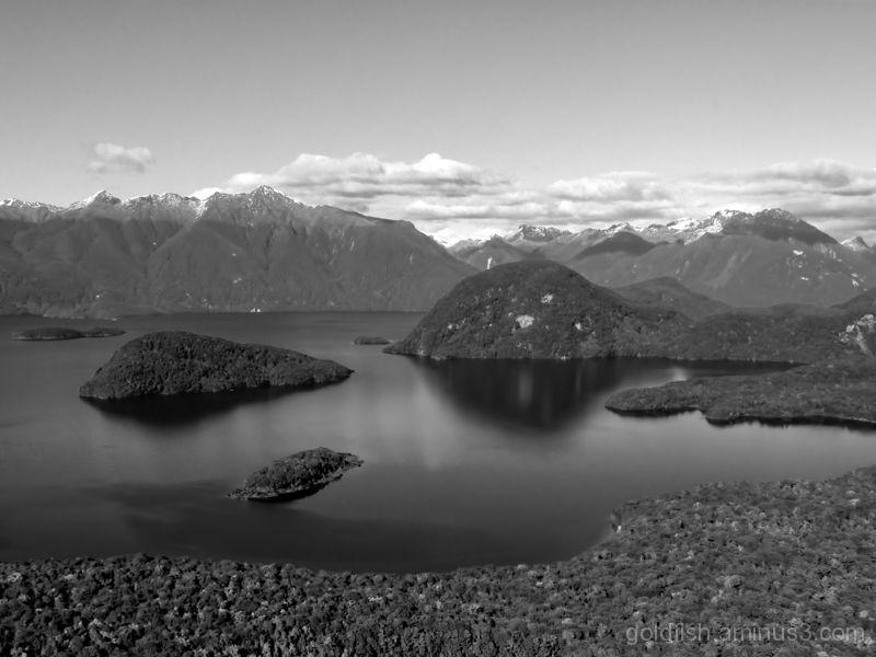 Lake Manapouri - Fiordland 1/4
