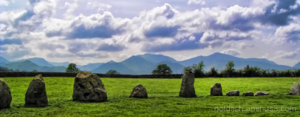 "Castlerigg Stone Circle 3/4 - ""Set In Stone"""