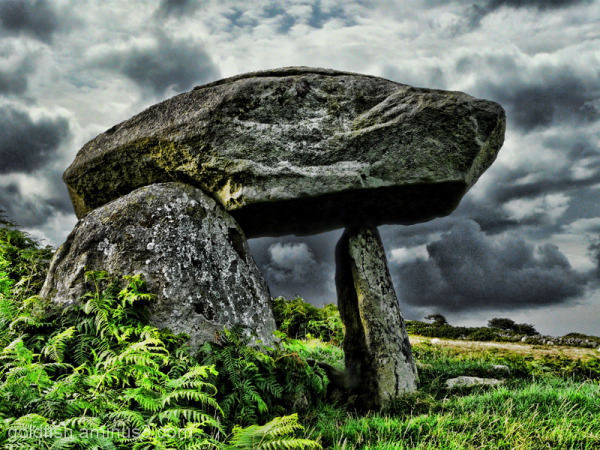 The Maen y Bardd Burial Chamber