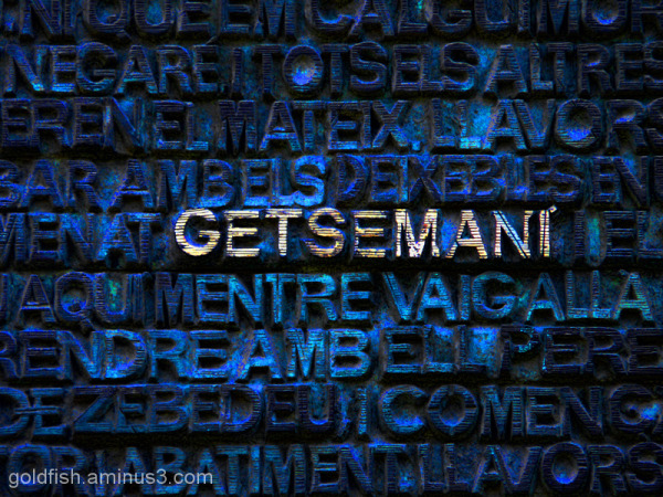 "Sagrada Família - 1/5 ""Getsemani"""