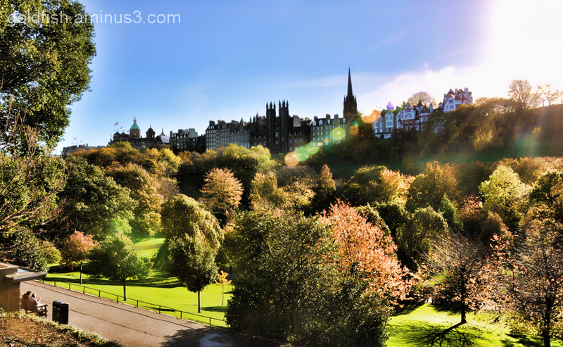 Princes Street Gardens & The Old Town