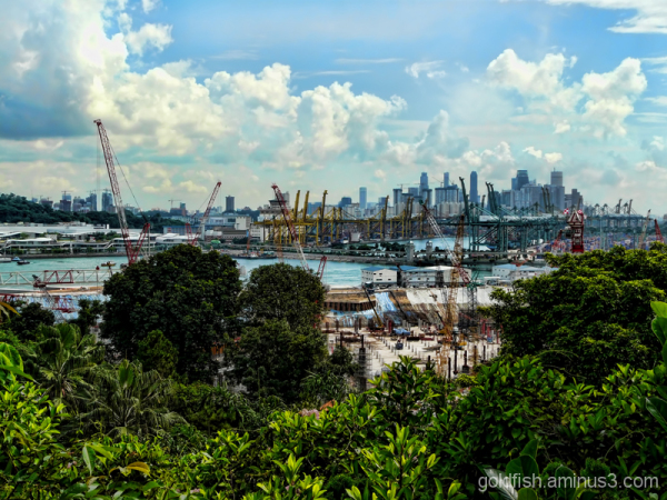 The Cranes Of Singapore 1/4