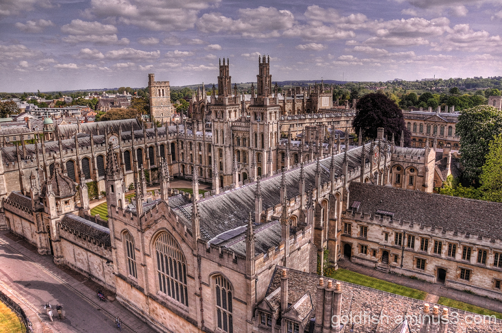 Oxford 4/11 - All Souls College