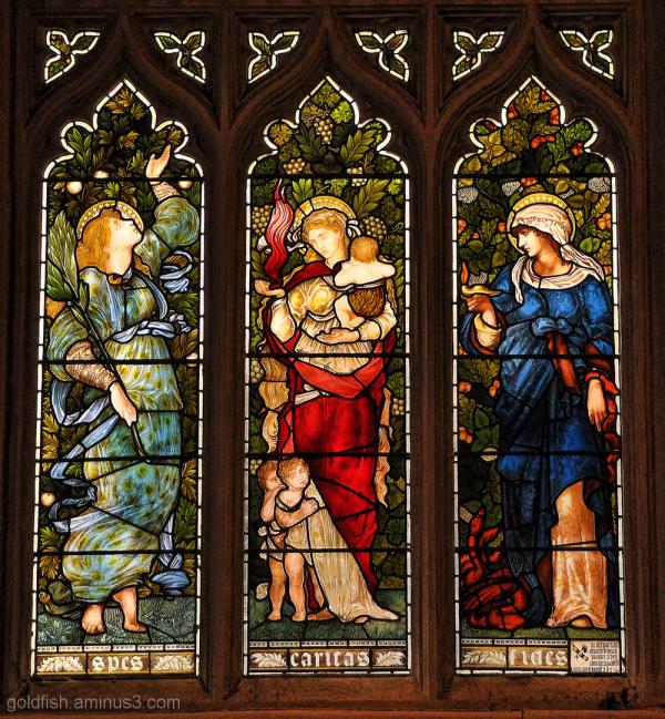 Spes, Caritas & Fides (Faith, Hope & Charity)