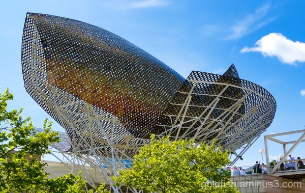 """El Peix"" (The Fish) - Barcelona Sculpture 1/4"