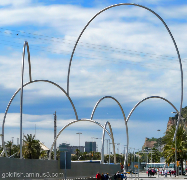 """Ones"" (Waves) - Barcelona Sculpture 2/4"