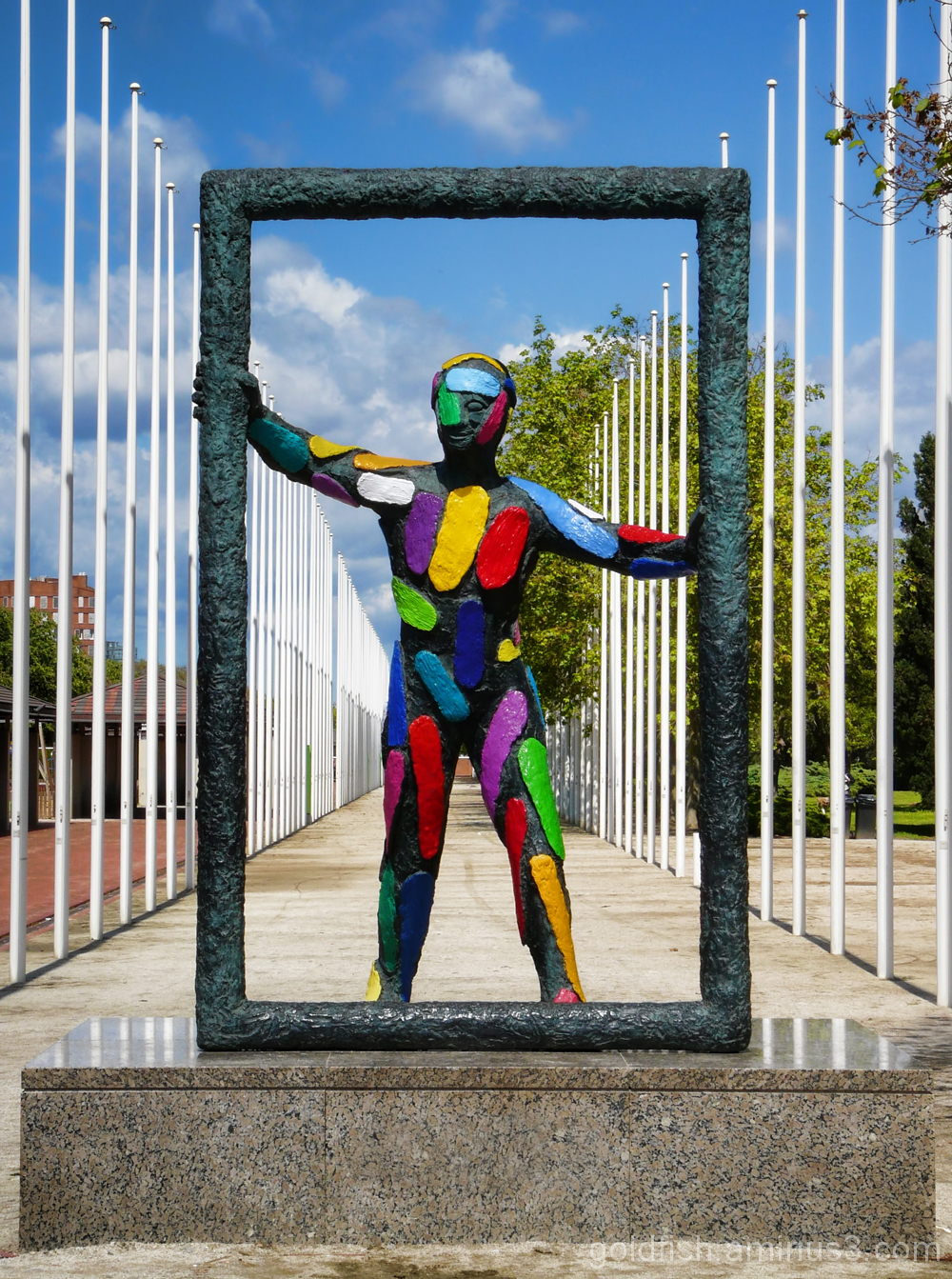 """Marc"" (Frame) - Barcelona Sculpture 3/4"