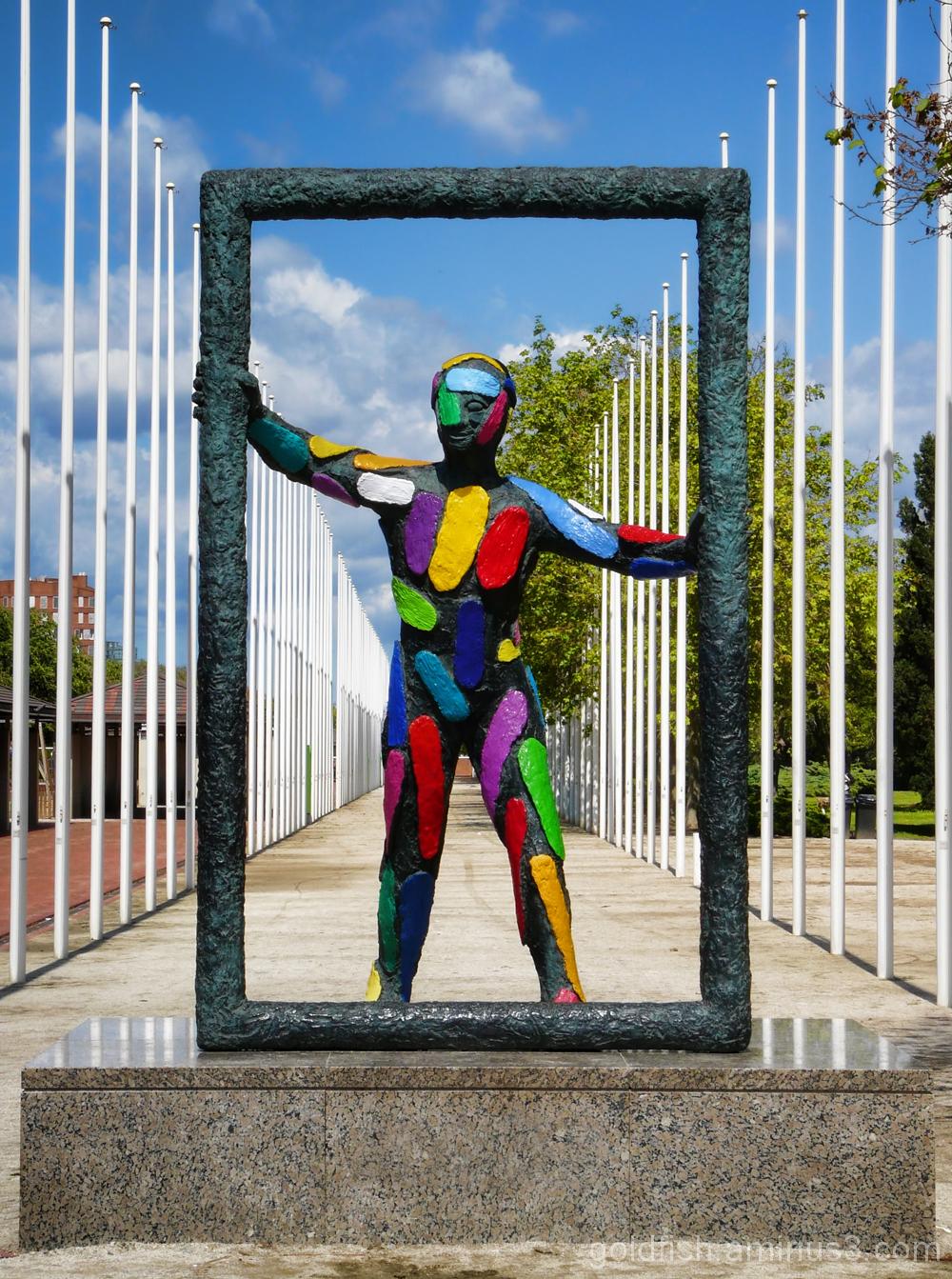 """""""Marc"""" (Frame) - Barcelona Sculpture 3/4"""