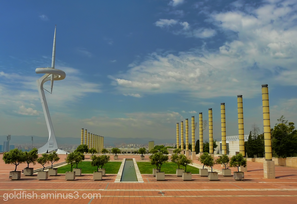 The Olympic Needle - Barcelona Sculpture 4/4