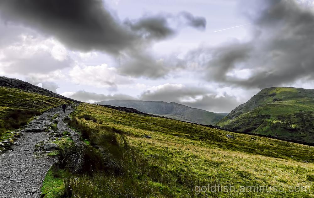 Yr Wyddfa - Snowdon, Llanberis Path (part 1) 1/11