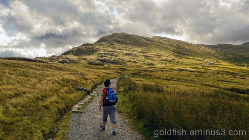 Yr Wyddfa - Snowdon, Llanberis Path (part 1) 4/11