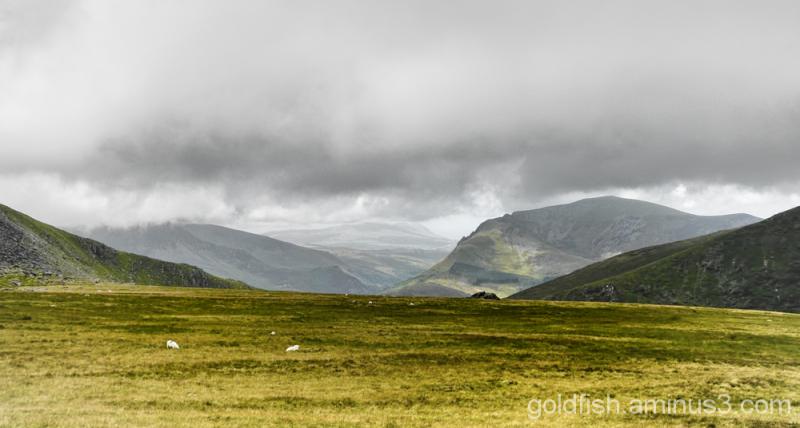 Yr Wyddfa - Snowdon, Llanberis Path (part 1) 8/11