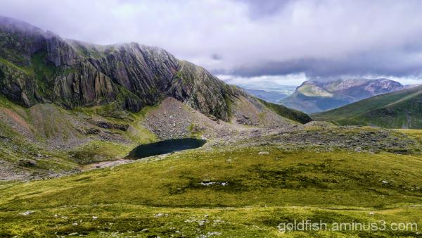 Yr Wyddfa - Snowdon, Llanberis Path (part 1) 9/11