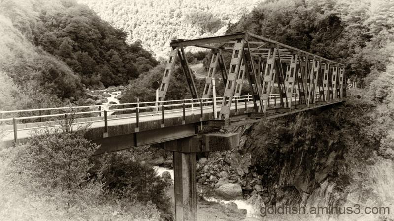 Gates of Haast Bridge