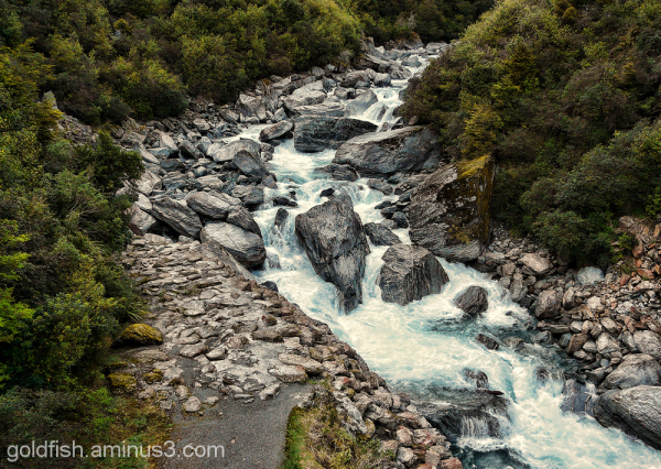 Haast River 1/2