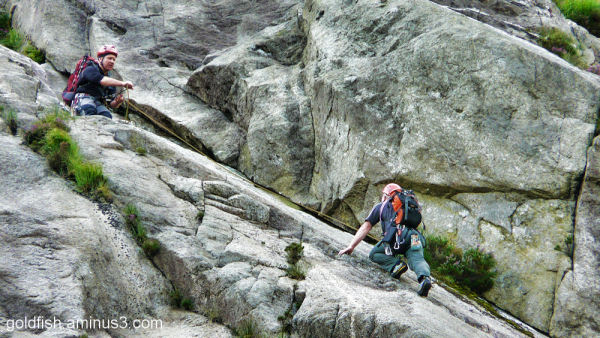 (Climbing the) Idwal Slabs 2/3
